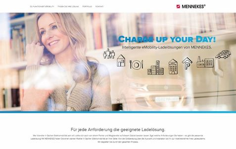 "Website ""www.ChargeUpYourDay.de"""