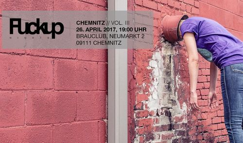 FuckUp Nights Chemnitz Vol. III